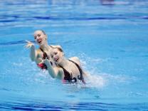 Bojer Marlene & Reinhardt Daniela GER APRIL 28 2018 Artistic Swimming The 94th Japan Artistic; Synchronschwimmen