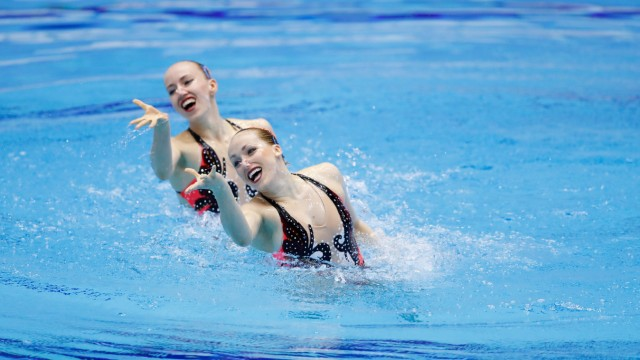Bojer Marlene & Reinhardt Daniela GER APRIL 28 2018 Artistic Swimming The 94th Japan Artistic; Synchronschwimmen
