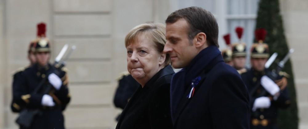 Macron Merkel EU