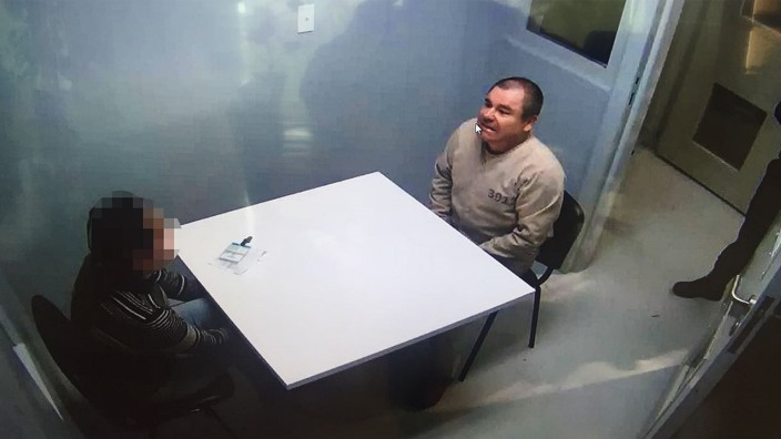 """Vor Prozess gegen Drogenboss ´El Chapo"""""""