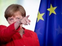 Merkel - Lahme Ente in Europa?