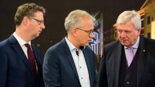 Hessen Schäfer-Gümbel Bouffier Al-Wazir