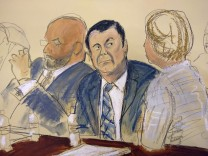 "Prozess gegen Drogenboss Joaquin ´El Chapo"" Guzman"