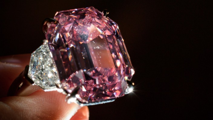 """Rosa Diamant """"Pink Legacy"""""""