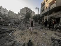 Gaza - Luftangriffe im Gazastreifen