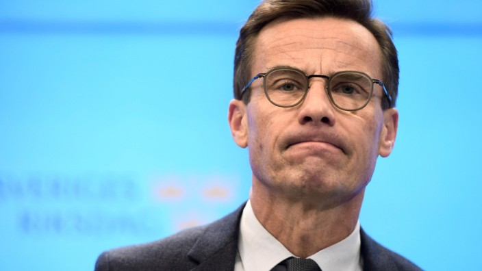Ulf Kristersson in Stockholm