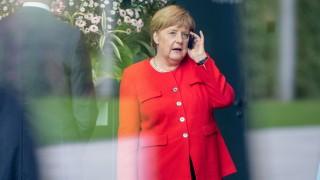 Zeman bei Merkel