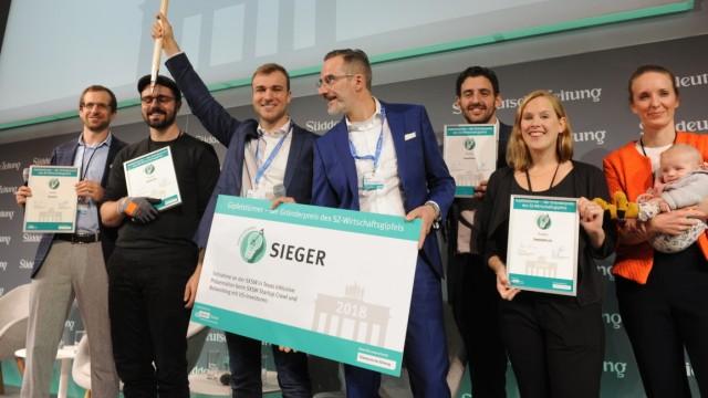 Start-up SZ-Gründerwettbewerb