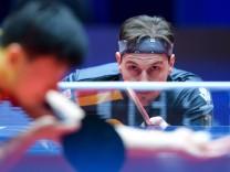 Bilder des Tages SPORT Tischtennis Team WM Halmstad Finale Deutschland China 180506 Tyskland