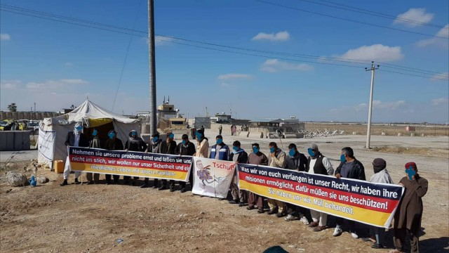Ortskräfte Afghanistan