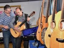 Gitarren-Ausstellung