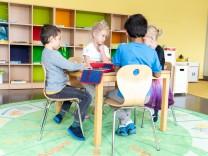 Schulkindergarten Garching am 18.10.2018.