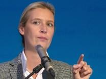 Landtagswahl in Bayern - Wahlparty AfD