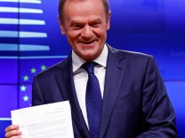 EU - Donald Tusk 2018 in Brüssel