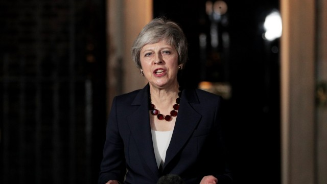 The British Prime Minister Confirms That Her Cabinet Back Brexit Draft Agreement
