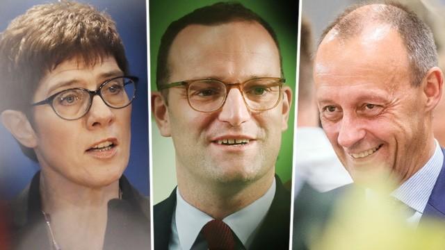 Kandidaten für CDU-Vorsitz