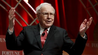 Buffett, chairman and CEO of Berkshire Hathaway, speaks at the Fortune's Most Powerful Women's Summit in Washington