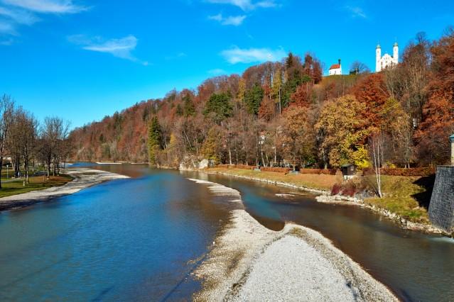 Herbstfarben an der Isar