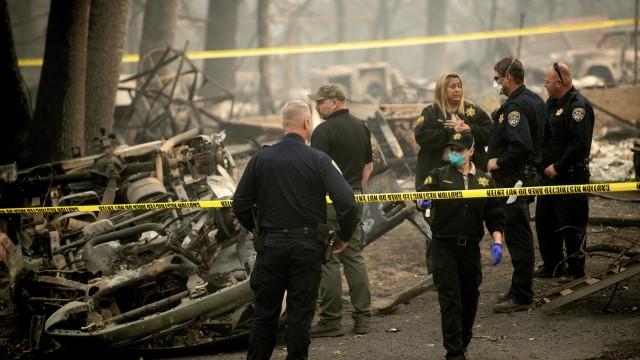 Naturkatastrophen Waldbrände in Kalifornien