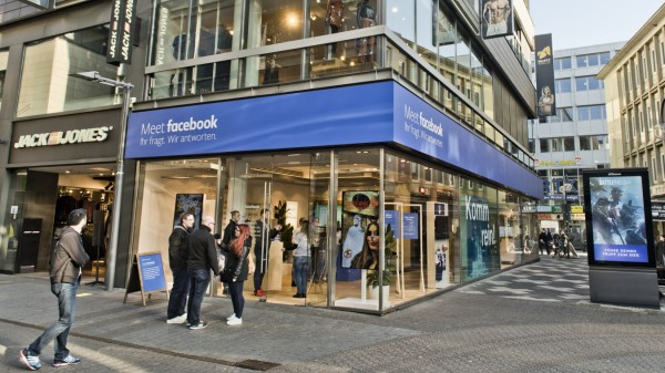 Facebook Pop Up Store Koeln