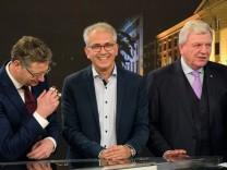 Landtagswahl Hessen ARD-Fernsehrunde