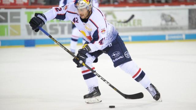 Yasin Ehliz EHC Red Bull Muenchen GER Eishockey DEL Schwenninger Wild Wings EHC Red Bull Muen; Eishockey