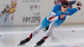 EISSCHNELLLAUF Hendrik DOMBEK GER am 13 10 2018 während der International Season Opening in der; Eisschnelllauf
