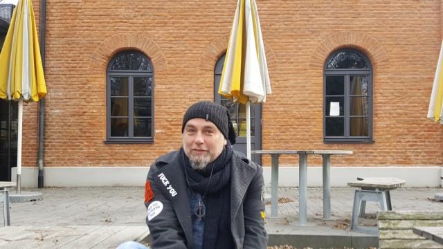 Stefan Meitinger Bob's vor dem Pasinger Pumpenwerk
