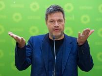 Landtagswahl Hessen - Reaktion Die Grünen in Berlin