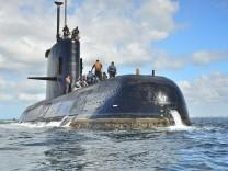 Privatfirma ortet vor Argentinien verschollenes U-Boot