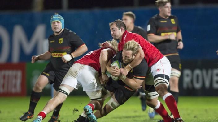Deutschland Kanada WM Qualifikationsspiel Qualifikationsspiel zum Rugby World Cup 2019 in Japan