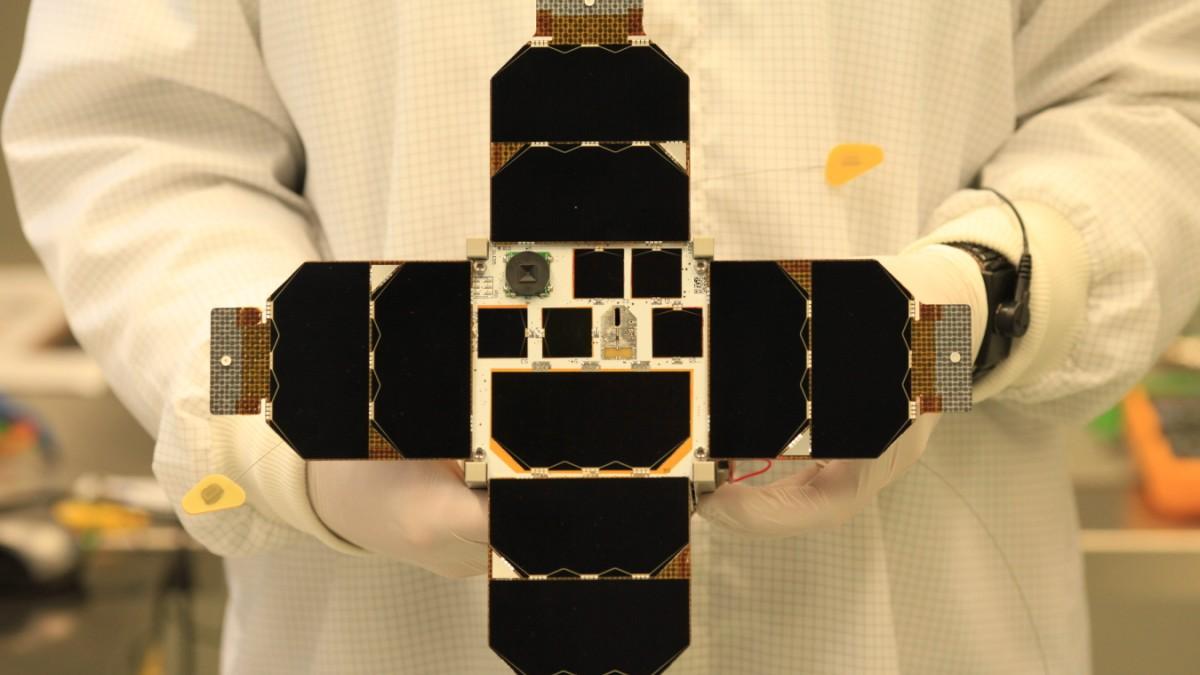 Münchner Studenten schicken Mini-Satellit ins All