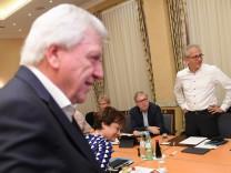 Sondierungsgespräch CDU und Grüne