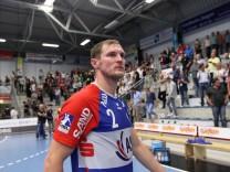 Enttaeuschung bei Michael Spatz TV Grosswallstadt 2 ASV Hamm Westfalen vs TV Grosswallstadt Hand; 36235440