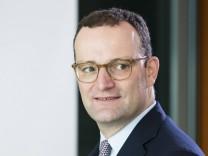 Jens Spahn (CDU) 2018 im Kanzleramt