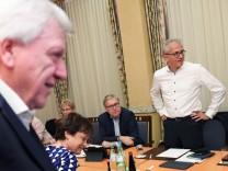 Hessen - Sondierungsgespräch zwischen CDU und Grünen