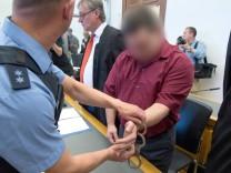 Angeklagter im Fall Johanna im Landgericht Gießen