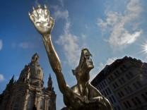 Ausstellung 'Die Wölfe sind zurück' in Dresden