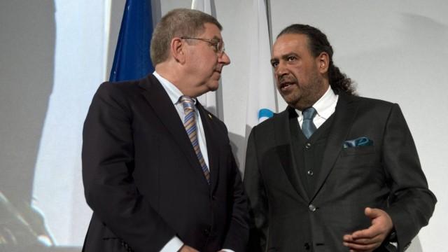 The Association of National Olympic Committees ANOC president Sheikh Ahmad Al Fahad Al Sabah of Ku
