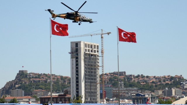 93th Anniversary of the Victory Day in Turkey