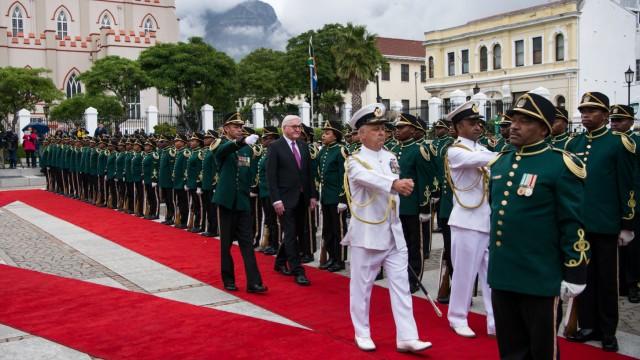 Bundespräsident Steinmeier in Südafrika