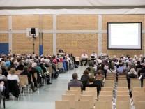 Bürgerversammlung in München, 2017