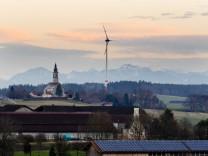 Windrad bei Hamberg, 2016