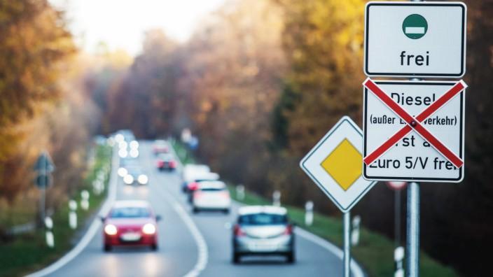 Fahrverbot für alte Dieselfahrzeuge