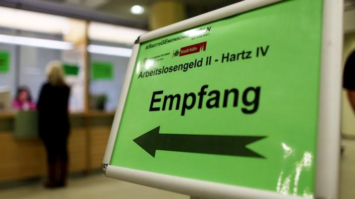 Empfangsschalter für Hartz IV Anträge
