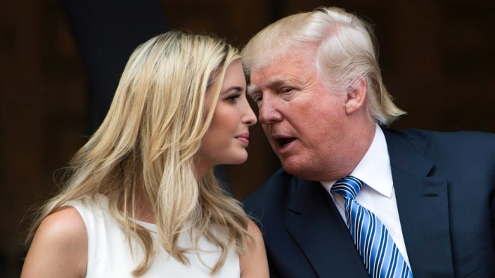 Ivanka und Donald Trump