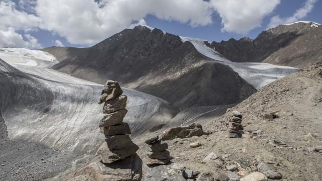 Landscape of Tianshan Glacier No. 1, Xinjiang