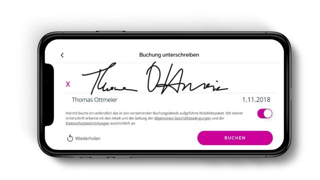 App des Müchner Startups Cluno