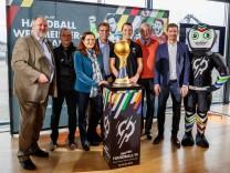 Muenchen Deutschland 21 11 2018 Pressekonferenz 50 Tage bis zur Handball WM 2019 Andreas Michel