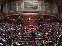 Grundsatzrede von Macron